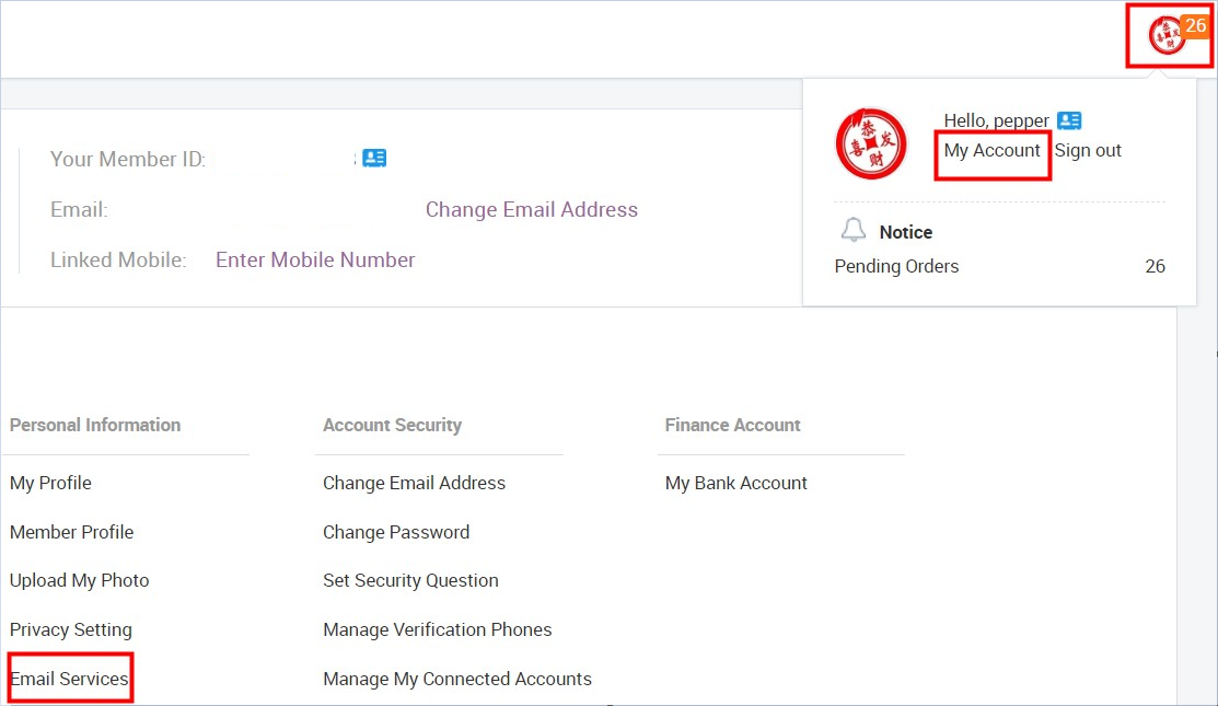 What can I do if I receive spam emails?