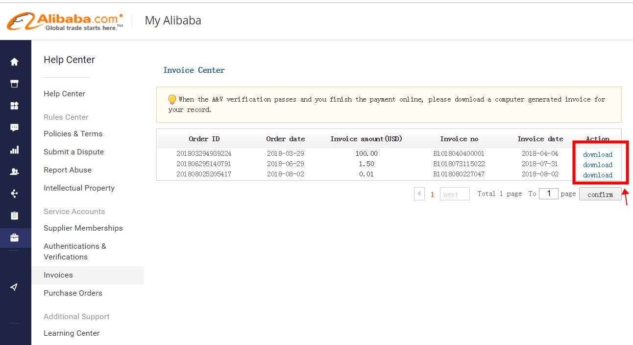 Alibaba Com Help Center How To Get My Membership Payment